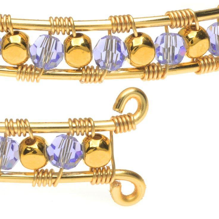 147 besten Jewelry Tutorials - Wire Work Bilder auf Pinterest ...