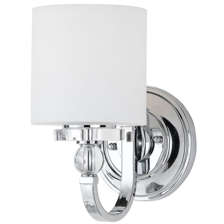 Quoizel Downtown 1 Light Wall Sconce Polished Chrome Silver