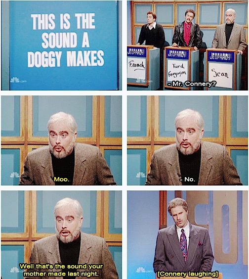 Snl celebrity jeopardy have a hard on