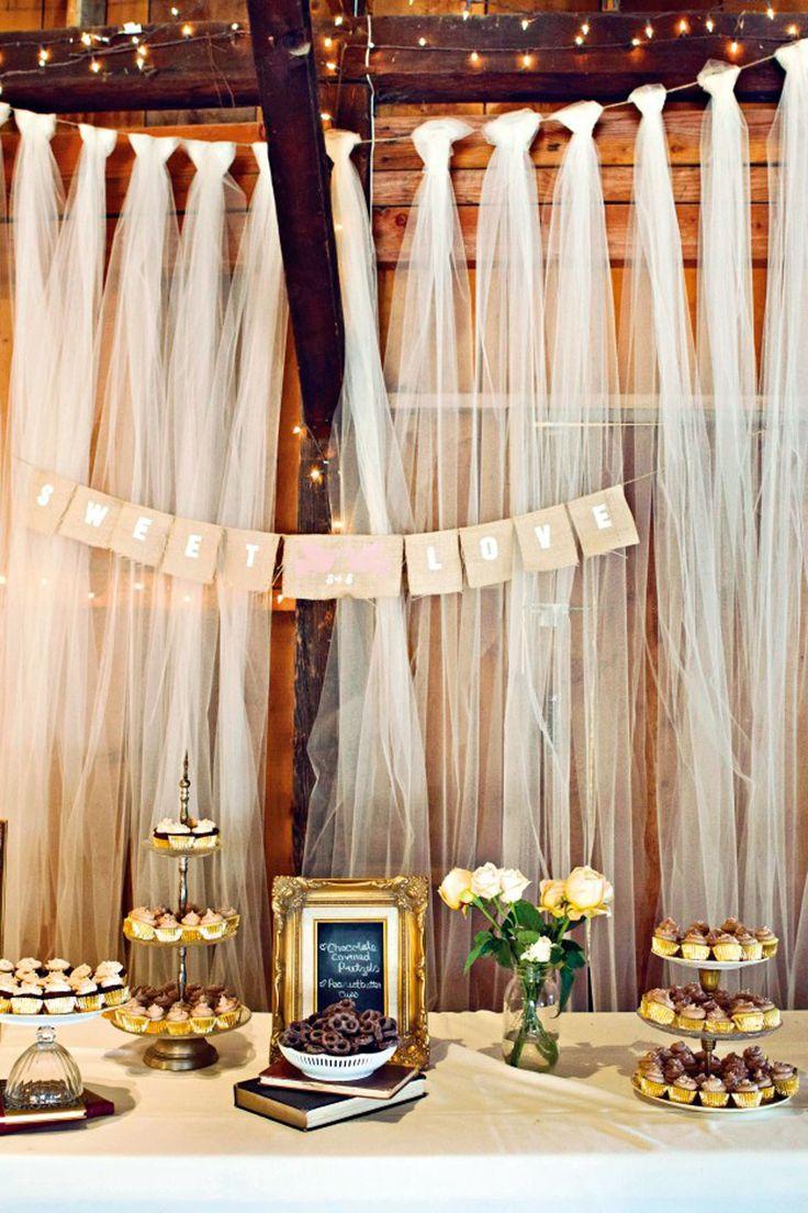 Tulle Wedding Decor Details Wedding Tulle BridesMagazinecouk
