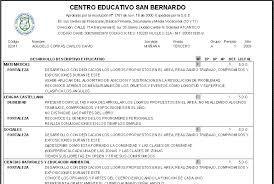 Resultado de imagen para ejemplo de informe academico preescolar
