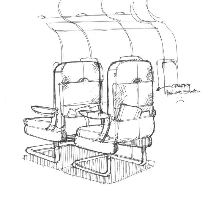 Best Airline Seat Design