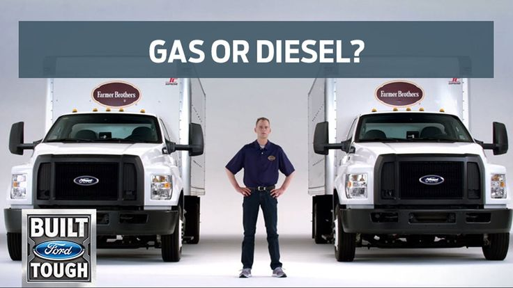 (adsbygoogle = window.adsbygoogle || []).push();       (adsbygoogle = window.adsbygoogle || []).push();  With all the benefits of Ford Medium Duty trucks offered with gas or diesel, it's hard to pick which truck is right for your business.  Darren Crawford, Fleet Manager for F...