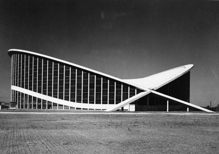 Maciej Nowicki - Dorton Arena,Raleigh, North Carolina, USA,1952. Originally refered to as the Paraboleum.