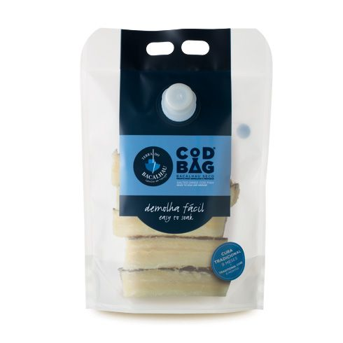 Cod Bag ® Codfish Loins, with no bone (1kg) - Terra do Bacalhau