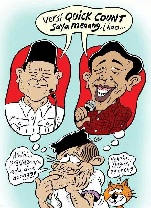 #Indonesia #Pilpres2014 Negeri Yang Aneh