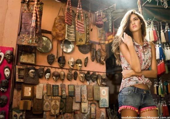 Moda y Tendencias en Buenos Aires: OSSIRA PRIMAVERA VERANO 2013 COLECCIÓN