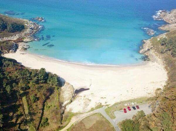 Playa Rebordelo. Cabana de Bergantiños. (A Coruña). Galicia. Spain.