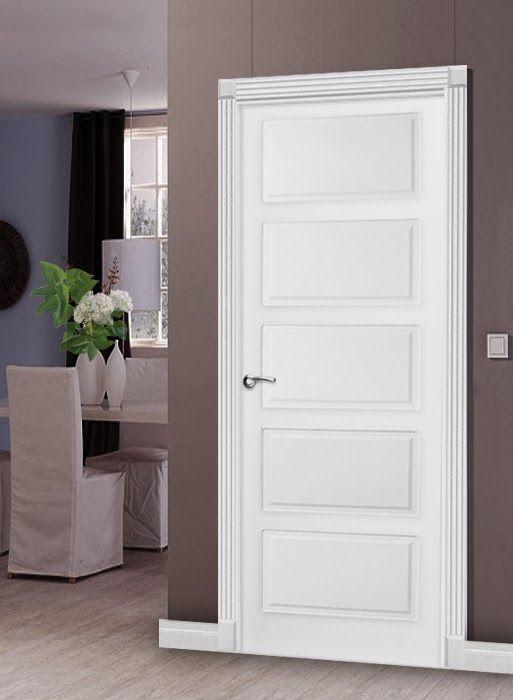 Какие обои выбрать, если межкомнатные двери белого цвета...