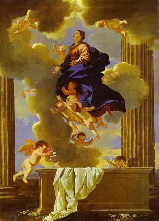 peinture de Nicolas Poussin — l'Assomption