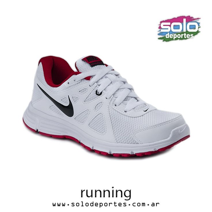 Revolution 2 MSL  Blanco/Negro/Rojo  Marca: Nike 510010554954101   $ 619,00 (U$S 104,92)