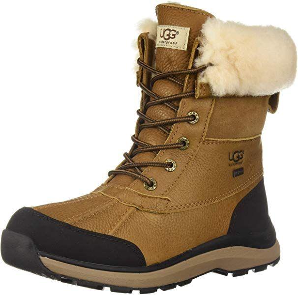 b32be34bfa906 Amazon.com | UGG Women's W Adirondack Boot III Snow, Chestnut, 8.5 M ...