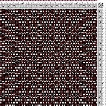 Hand Weaving Draft: cw158490, Crackle Design Project, 8S, 8T - Handweaving.net Hand Weaving and Draft Archive