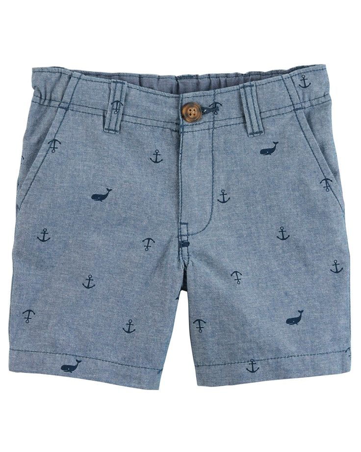 Gear up for spring with these chino shorts! Crafted in peached canvas, these shorts are easy to dress up or down.