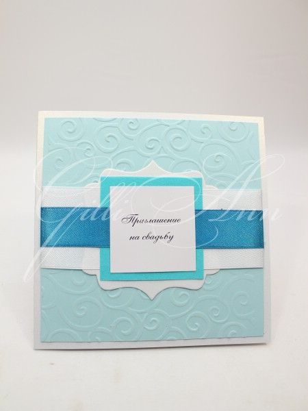 Приглашения на свадьбу ручной работы Gilliann Blue Sky INV045, http://www.wedstyle.su/katalog/invitations/priglashenia-ruchnoy-raboti, #wedstyle, #свадебныеаксессуары, #приглашениянасвадьбу, #пригласительныенасвадьбу