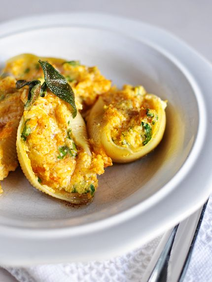 Butternut Squash Stuffed Shells