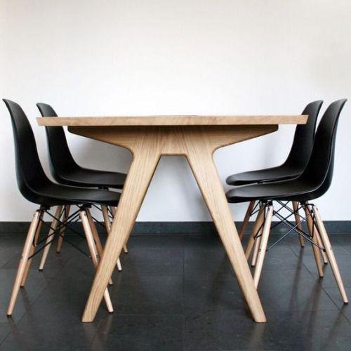 "urbnite:  ""Eames Molded Side Chair (Dowel Legs)  """