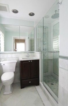 Sufficient, If I Cant Have A Huge Space (Evanston Small Master    Traditional   Bathroom   Chicago   IDEA + Build, LLC)