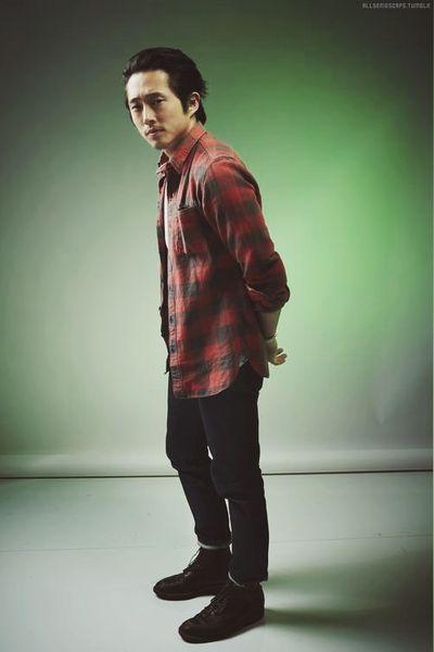 Steven Yeun #TheWalkingDead    AMC #TWD