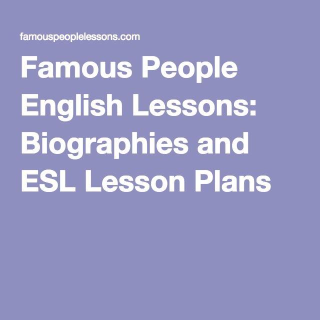 Vælg en kendt personlighed og arbejd grundigt med tekst, ordforråd og form. Meget velegnet side til at vide mere om en kendt personlighed.