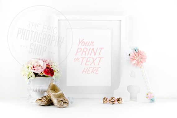 Print Background / Blank Frame / Styled Stock Photography / Product Photography / Staged Photography / Product Background / GR010