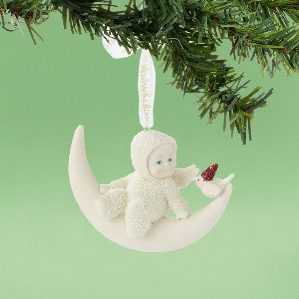 Meet Me On the Moon Ornament