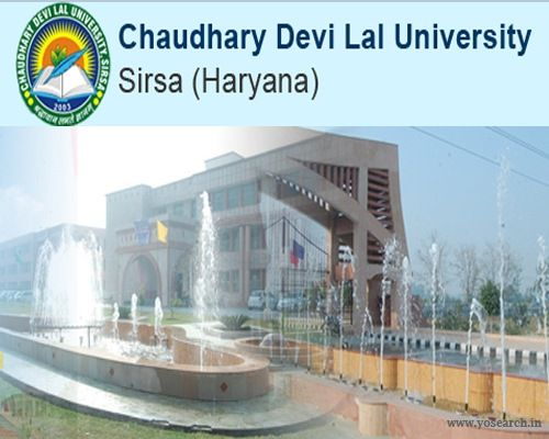 Looking for Chaudhary Devi Lal University Distance Education UG PG Courses 2017? Visit Yosearch for CDLU UG PG Courses 2017 eligibility, application, dates.
