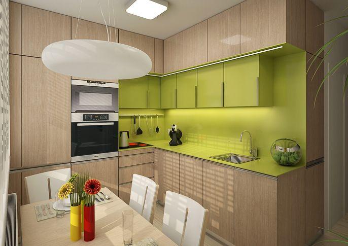 Rekonstrukce panelákové kuchyně