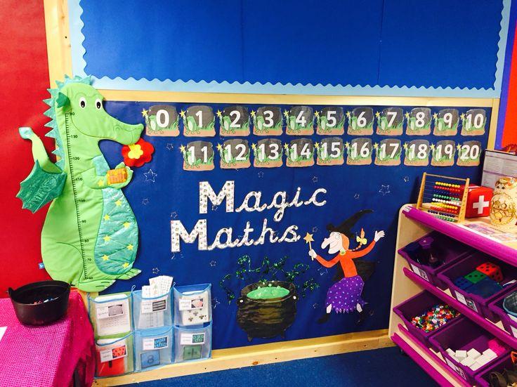 New magic maths area! Julia Donaldson themed # ...