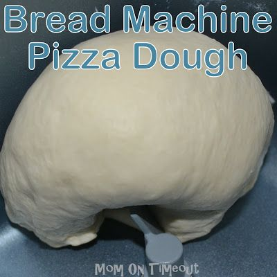 My favorite Bread Machine Pizza Dough {Recipe}