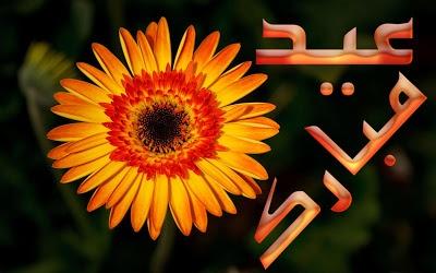 Eid Mubarak 2012 Fresh Flowers Eid Adha Cards