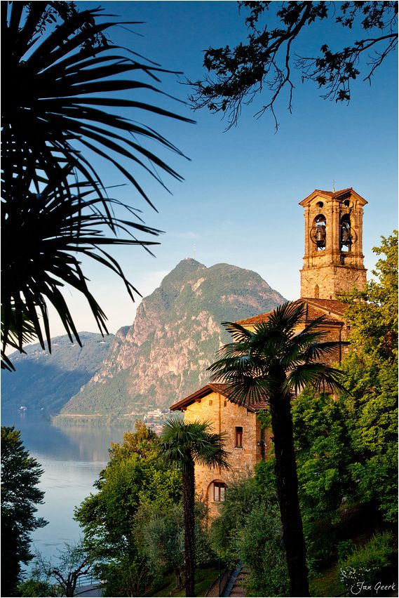 Canton Ticino or Ticino, Switzerland. It is located in the south of Switzerland and is almost entirely surrounded by Italy which lies to its east, west and south.  Go to www.YourTravelVideos.com or just click on photo for home videos and much more on sites like this.