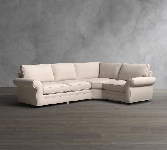 Pearce Roll Arm Upholstered 4 Piece Reclining Sectional