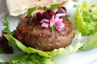 Basil feta turkey burger and other inexpensive food ideas