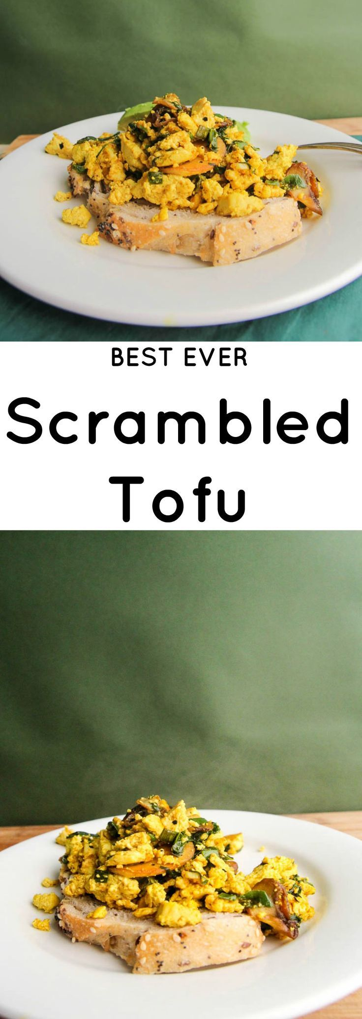 One secret ingredient away to making the best scrambled tofu ever. Get the recipe now to discover the moistest scramble ever.