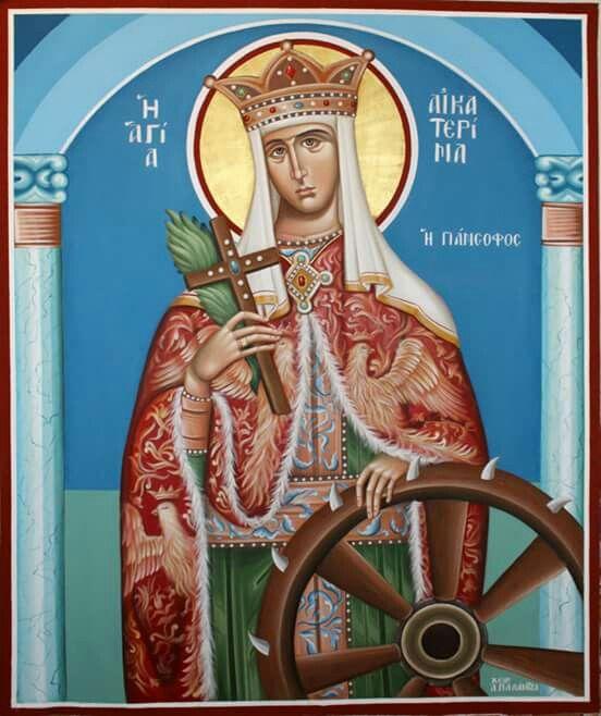 Saint Catherine icon