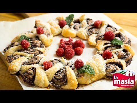 Corona de #chocolate Disfrute de esta increíble #receta #dulce #dulces #recetasdecocina #recetasgratis #recetasfaciles