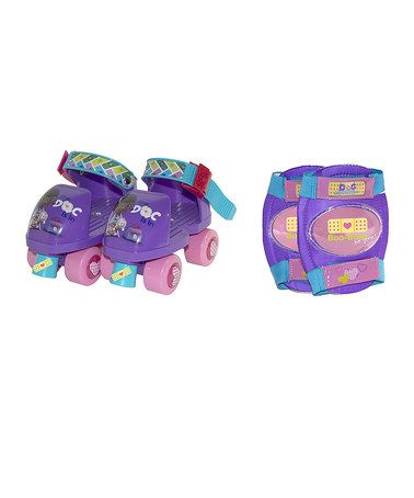 Take a look at this Disney Doc McStuffins Jr. Skates & Knee Pads by Doc McStuffins on #zulily today!