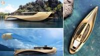 Jacht Cronos is een ontwerp van twee jonge designstudenten genaamdSimone MadellaenLorenzo Bersellivan de European Institute of Design. Het design van deze boot, die voornamelijk uit hout bestaat, is werkelijk een
