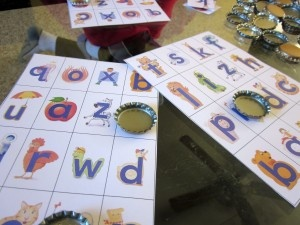 PERFECT! Alphafriends! My kids will LOVE this, and printables available. Sweet!