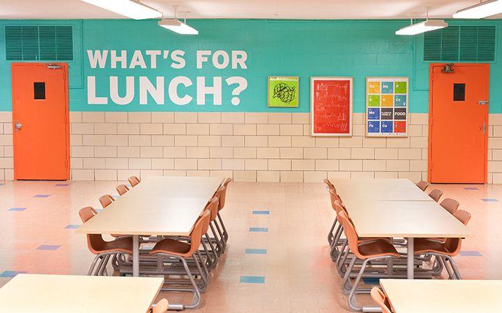 Jillian Erhardt » Baltimore Design School Cafeteria
