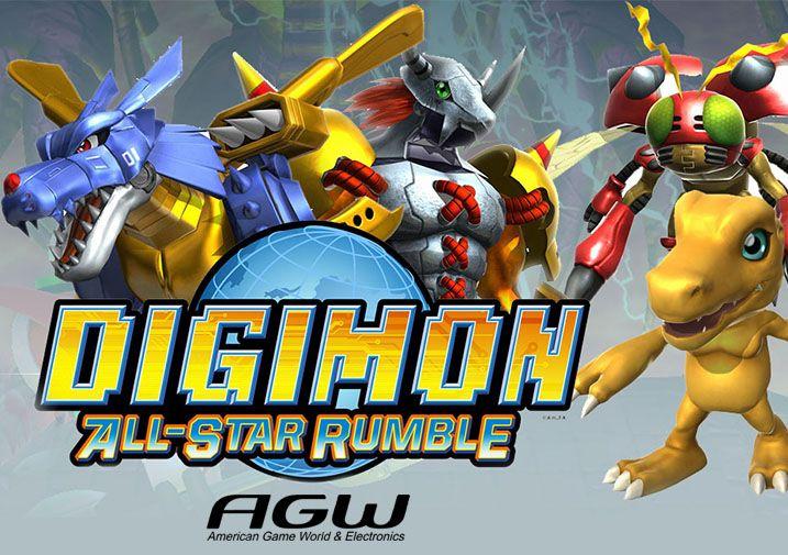 Prepárate para un Throwdown épica con 12 de tus personajes favoritos de Digimon en Digimon Rumble Juego de Estrellas. Con personajes del universo Digimon que abarca desde Digimon Adventure través Digimon Fusión, que tendrá una gran variedad de estilos de lucha, Digievoluciona a tu favorito y convertirse en el campeón del torneo. Lucha hasta el final. Mejorar y fortalecer su Digimon en la batalla por la recogida de Digicards. ¿Tienes lo que se necesita para ser victoriosos?