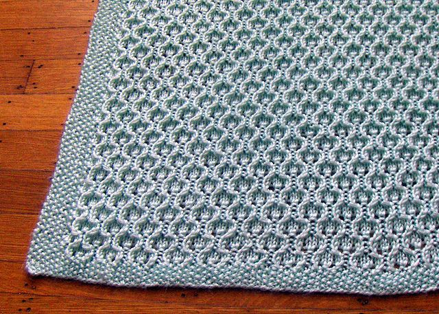 Knitting Pattern For Honeycomb Baby Blanket : 1000+ images about Knitting Baby on Pinterest
