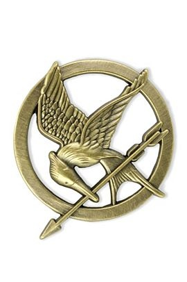 The Hunger Games MockingJay Pin! only $12.50 at Hottopic