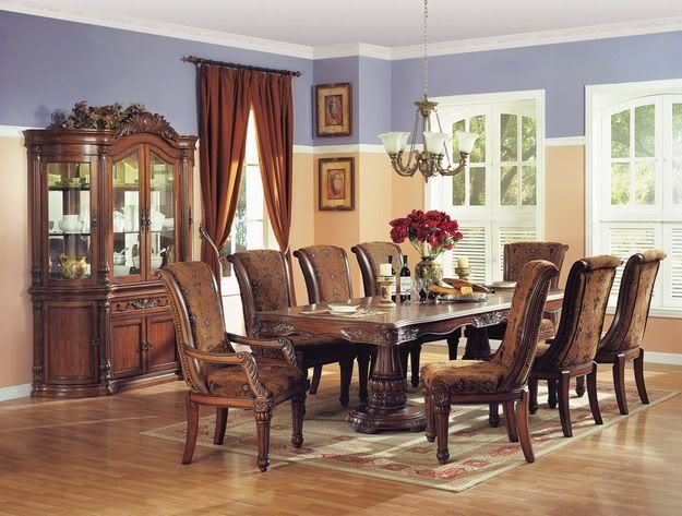Estelle Formal Dining Room Set China Cabinet Furniture