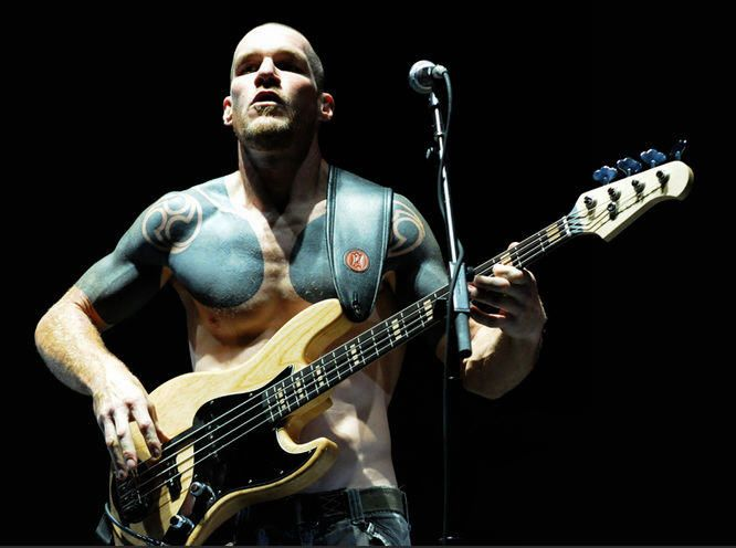 Tim Commerford - bass player for RATM!