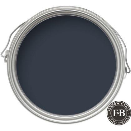 Farrow & Ball Modern No.30 Hague Blue - Emulsion Paint - 2.5L