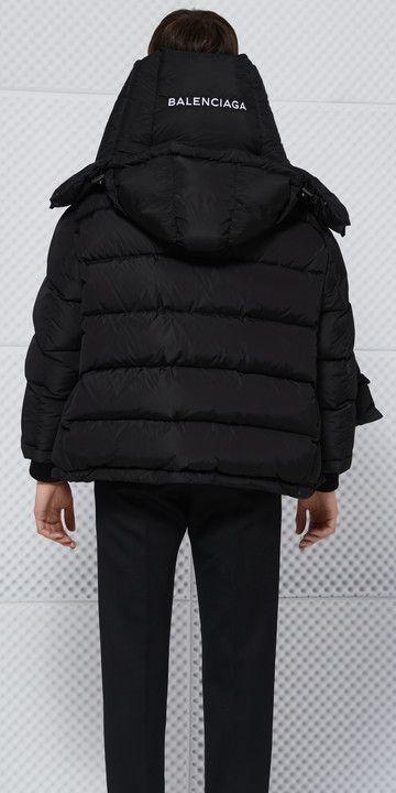 Balenciaga Swing Puffer Jacket                                                                                                                                                                                 More