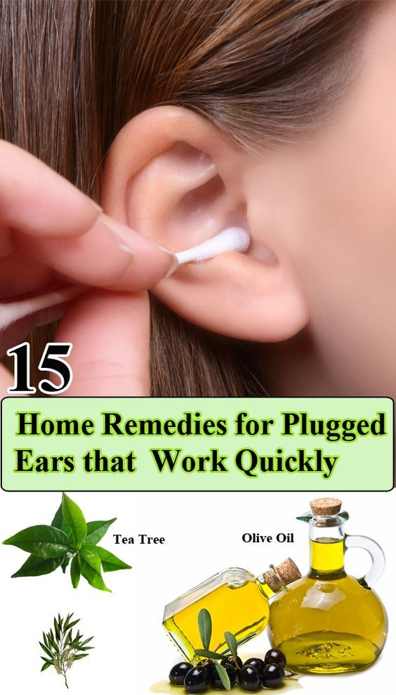 15 Home Remedies for Plugged Ears that Work Quickly HomeRemedies