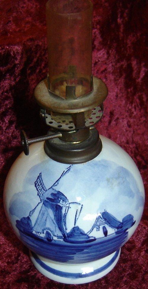 Antique lamp.